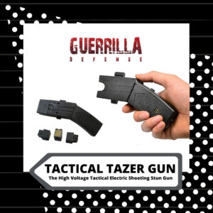 High Voltage Tactical Tazer Gun