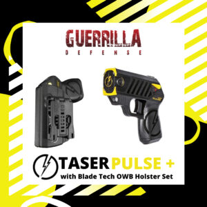 TASER PULSE+ With Blade Tech OWB Holster Set