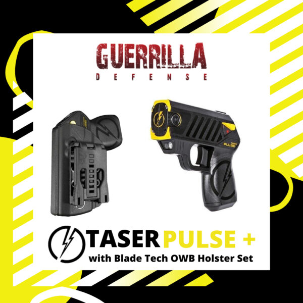 TASER PULSE+ With Blade Tech OWB Holster Set