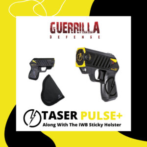 TASER Pulse+ with IWB Sticky Holster