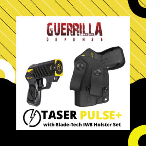 Taser Pulse+ with Blade-Tech IWB Holster