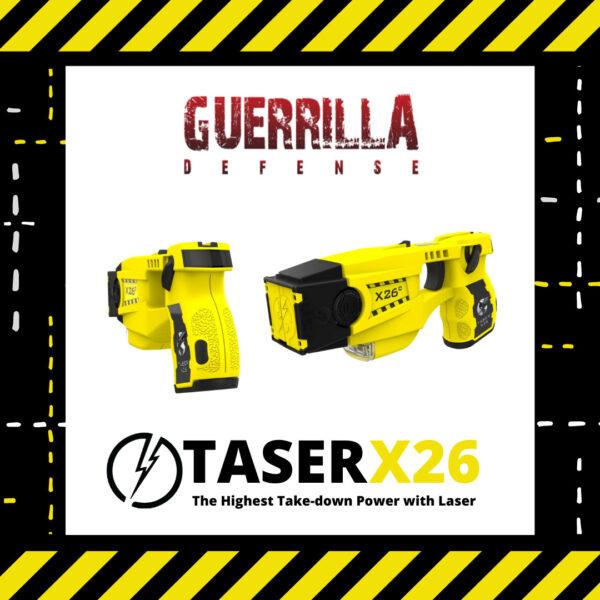 TASER X26 with Laser