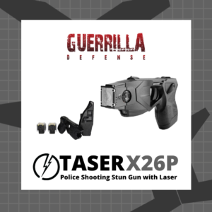 Taser X26P Police Shooting Stun Gun with Laser