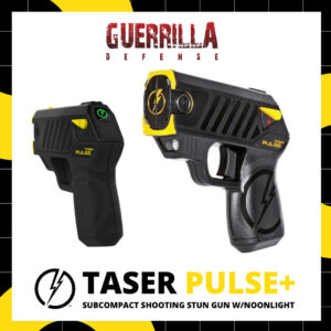 TASER Pulse+ Subcompact Shooting Stun Gun w/Noonlight