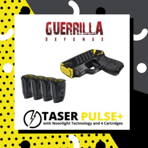 Taser Pulse+ with Noonlight Technology and 4 cartridges