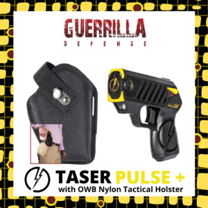 Taser Pulse+ with OWB Nylon Tactical Holster