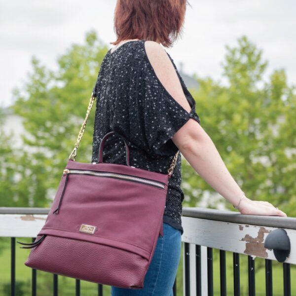 Concealed gun purse